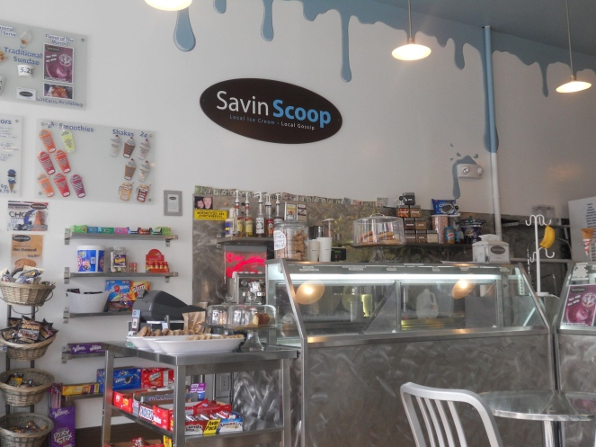 Savin Scoop, the most favorite ice cream shop in Savin Hill