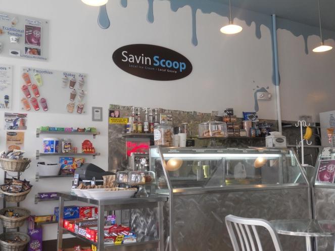 Savin Scoop, the most favorite ice cream shop in Savin Hill
